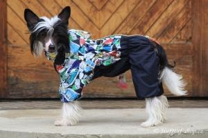 FOTO – Obleček pro psy – pláštěnka FMD, nový super komfortní a funkční model SNEAKERS (4)