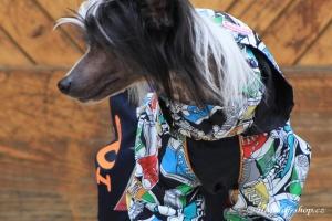 FOTO – Obleček pro psy – pláštěnka FMD, nový super komfortní a funkční model SNEAKERS (5)