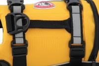 Plovací vesta pro psy od EZYDOG s unikátní vztlakovou pěnou, reflexními prvky a pohodlnou a promyšlenou konstrukcí. Barva žlutá. (7)