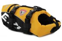 Plovací vesta pro psy od EZYDOG s unikátní vztlakovou pěnou, reflexními prvky a pohodlnou a promyšlenou konstrukcí. Barva žlutá. (3)
