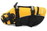 Plovací vesta pro psy od EZYDOG s unikátní vztlakovou pěnou, reflexními prvky a pohodlnou a promyšlenou konstrukcí. Barva žlutá. (2)