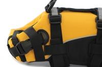 Plovací vesta pro psy od EZYDOG s unikátní vztlakovou pěnou, reflexními prvky a pohodlnou a promyšlenou konstrukcí. Barva žlutá. (5)