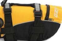 Plovací vesta pro psy od EZYDOG s unikátní vztlakovou pěnou, reflexními prvky a pohodlnou a promyšlenou konstrukcí. Barva žlutá. (6)