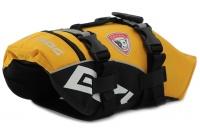 Plovací vesta pro psy od EZYDOG s unikátní vztlakovou pěnou, reflexními prvky a pohodlnou a promyšlenou konstrukcí. Barva žlutá. (4)