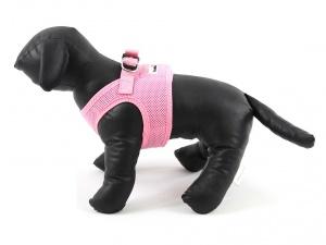 Růžový postroj pro psy Doodlebone (2)