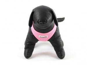Růžový postroj pro psy Doodlebone