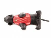 Měkký hrudní postroj pro psy od Doggy Things z bavlněného plátna s flísovým lemováním