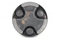 Miska proti hltání psů od HOLLAND ANIMAL. Unikátní tvar misky se třemi oddělenými sekcemi účinně brání psům v hltání. Průměr misky 23 cm, barva šedá. (4)