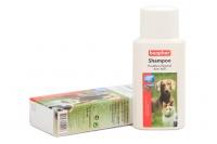 Šampón BEAPHAR vyvinutý pro kočky a psy, kteří často trpí podrážděním kůže (ekzém, po štípnutí hmyzem apod.) Objem 200 ml (2).