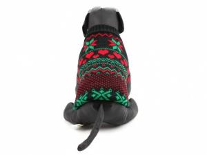 Sváteční svetr pro psy – černý, pohled 3