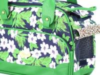 Luxusní prostorná kabelka/taška psy až do 8 kg. Kolekce Urban Pup, řada ORCHID, doporučená maximální váha psa 8 kg (detail 3)