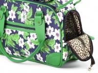 Luxusní prostorná kabelka/taška psy až do 8 kg. Kolekce Urban Pup, řada ORCHID, doporučená maximální váha psa 8 kg (detail 4)