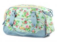 Luxusní prostorná kabelka/taška psy až do 8 kg. Kolekce Urban Pup, řada SUMMER ROSE, doporučená maximální váha psa 8 kg (3)