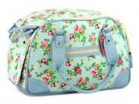 Luxusní prostorná kabelka/taška psy až do 8 kg. Kolekce Urban Pup, řada SUMMER ROSE, doporučená maximální váha psa 8 kg (4)