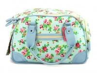 Luxusní prostorná kabelka/taška psy až do 8 kg. Kolekce Urban Pup, řada SUMMER ROSE, doporučená maximální váha psa 8 kg (2)