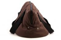 Taška na psy od BOBBY z měkkého a příjemného materiálu vhodná pro štěňata, jorkšíry, čivavy apod. Nosnost 5 kg, barva hnědá (6).