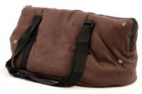 Taška na psy od BOBBY z měkkého a příjemného materiálu vhodná pro štěňata, jorkšíry, čivavy apod. Nosnost 5 kg, barva hnědá (7).