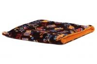 Tulipytlík – originální pelíšek pro psy i kočky z měkoučkého fleecu. Rozměry 50 × 50 cm, vhodný pro malá plemena psů, kočky, fretky apod.
