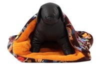 Tulipytlík – originální pelíšek pro psy i kočky z měkoučkého fleecu. Rozměry 50 × 50 cm, vhodný pro malá plemena psů, kočky, fretky apod. (4)