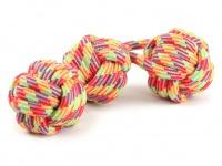 Pevná přetahovací hračka pro psy vyrobená z bavlněného splétaného provazu (2)