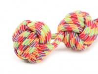 Pevná přetahovací hračka pro psy vyrobená z bavlněného splétaného provazu (3)
