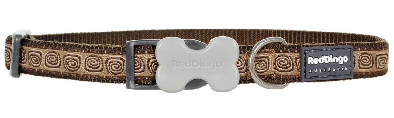 Obojek pro psa RED DINGO – Hypno Brown